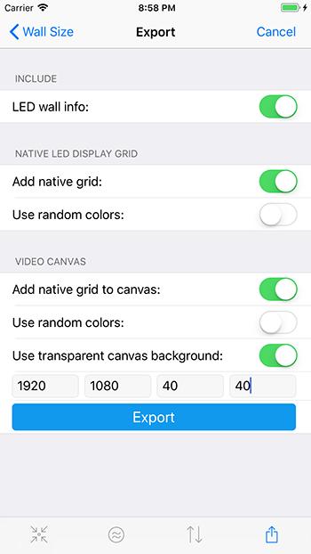 Export Grids & Info